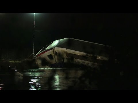 Ten dead as French high-speed train derails during test run