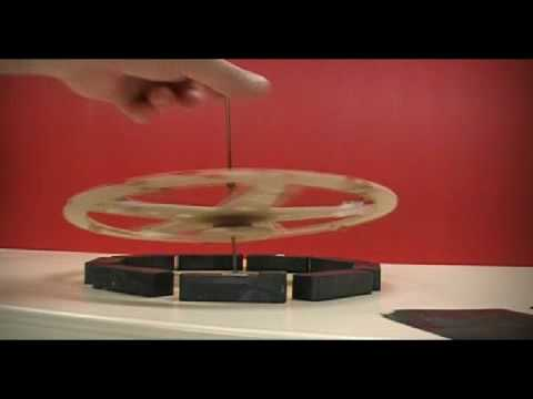 MAGNETIC SPINNING TOP