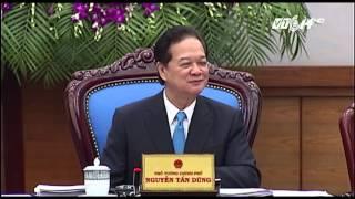 (VTC14)_Thủ tướng Nguyễn Tấn Dũng chia tay Chính phủ
