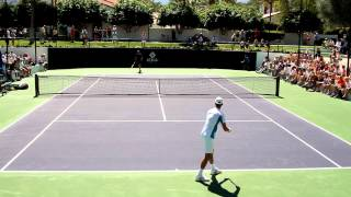 Novak Djokovic 2013 Practices Serves and Overheads