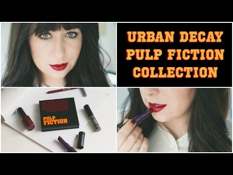 Urban Decay Pulp Fiction: First Impressions & Tutorial (Mia Wallace) | Gemsmaquillage