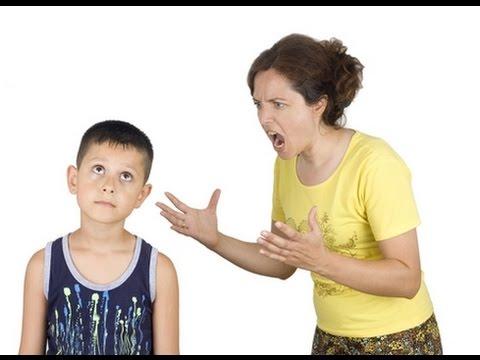 Как сделать что бы не кричать на ребенка 793