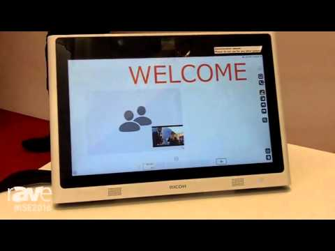 ISE 2016: Ricoh Highlights Desk-Based Video Collaboration