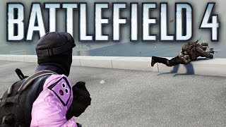 Battlefield 4 Multiplayer Funny Gameplay Moments! #9 (How to steal a Tank, Only in Battlefield 4!)