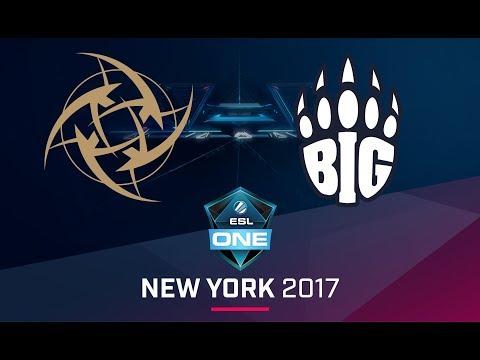 CS:GO - NiP vs. BIG [Cache] Map 2 - Quarterfinal - ESL One New York EU Qualifier