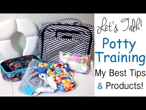 Potty Training 101: My BEST Tips and Favorite Products - Kanga Care & Ju-Ju-Be!