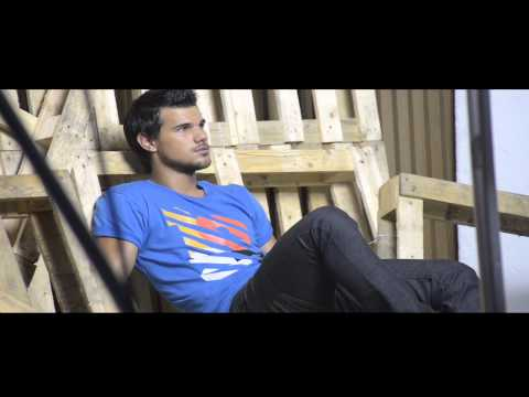 B/TV: Taylor Lautner for BENCH - Summer 2014, Behind the Scenes