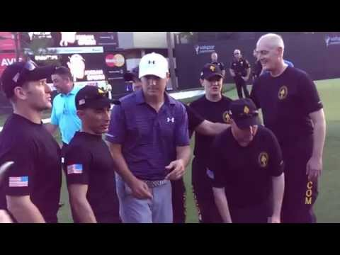 Jordan Spieth honors Special Operations Command troops after win at Valspar