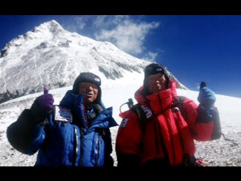 Oldest Everest climber 'on top of world'