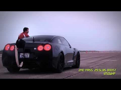 AMS Alpha Omega GT-R Top Speed Record: 233mph Drift!!!