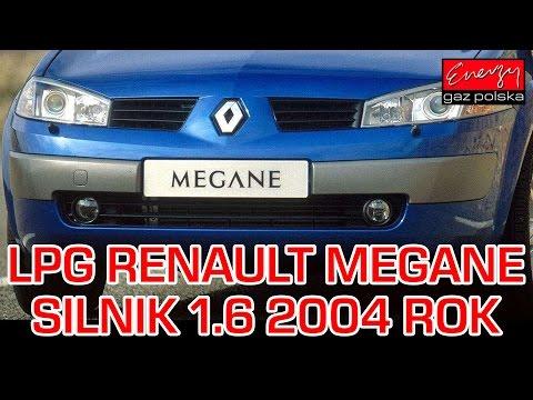 Montaż LPG Do Renault Megane 1.6 2004r - Lovato Smart