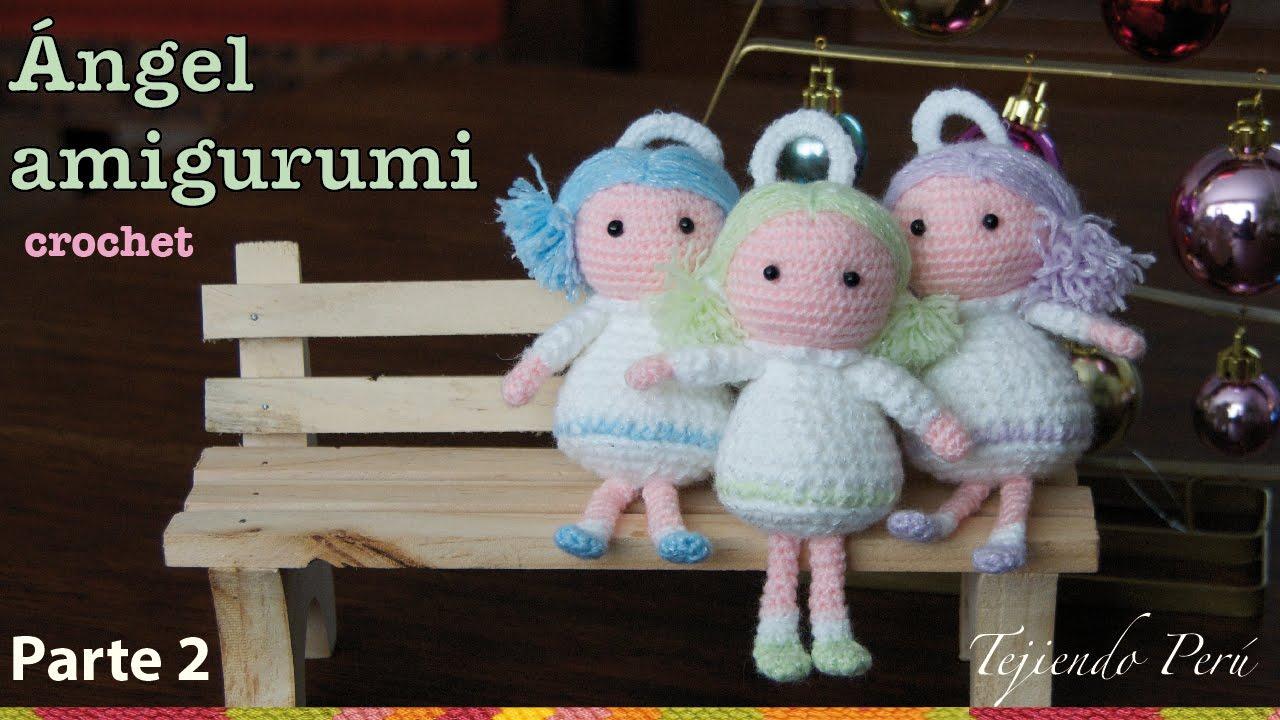Angel Amigurumi Paso A Paso : angel tejido a crochet amigurumi (Parte 2) - YouTube
