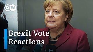 Brexit vote reactions and analysis | DW News