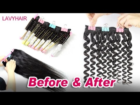 lavyhair: How to make curly hair from straight. DIY WITH BOILING & No CHEMICAL