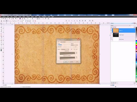 Criando um Folder 3 Dobras no Corel Photo Paint X6