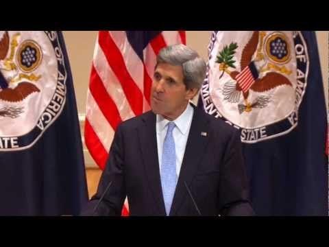 Secretary Kerry Delivers Remarks on Investing in a Strong Foreign Policy