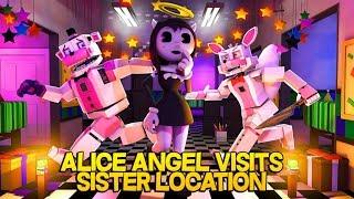 Minecraft Fnaf: Alice Angel Visits Sister Location (Minecraft Roleplay)
