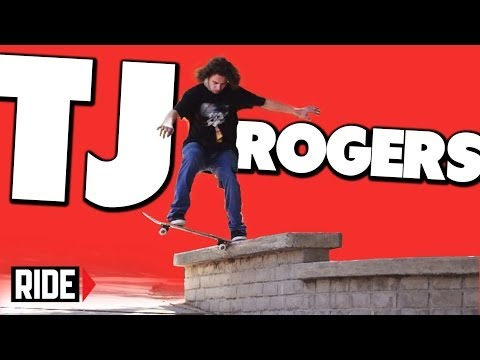 TJ Rogers Skateboarding in Slow Motion - Switch Tail Bigspin 270