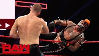 Rey Mysterio vs. Sami Zayn: Raw Reunion, July 22, 2019