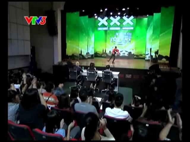 Vietnam's Got Talent 2012 - Vòng Loại Sân Khấu Nguyễn Công Đạt