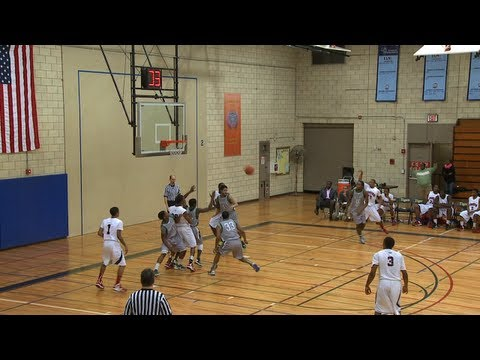 Men's Basketball: Queensborough vs. Mohawk Valley CC (1/14/13)