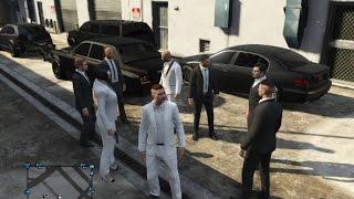 GamePlay Gta V Maroc (Mafia Vs Banque )