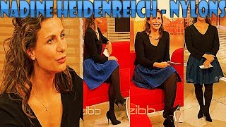 Nadine Heidenreich HD Nylons Pantyhose Collant Strumpfhose on rbb zibb