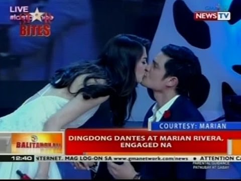 BT: Dingdong Dantes at Marian Rivera, engaged na