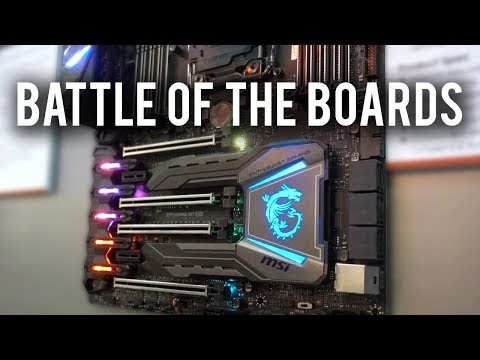 Are you sick of X299 boards yet!?! MSI @ Computex 2017