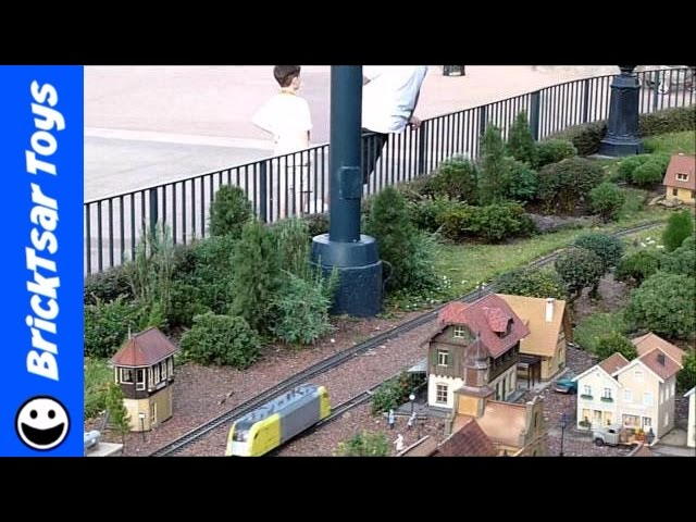 German Garden Railroad Train Layout of Disney Epcot Florida G Scale Model