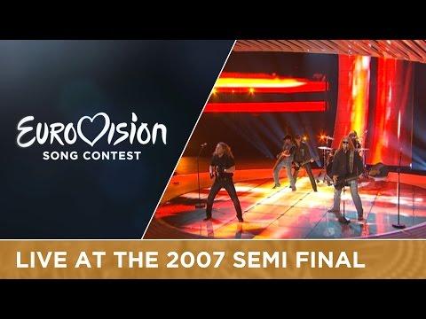 Kabát - Malá Dáma (Czech Republic) Live 2007 Eurovision Song Contest
