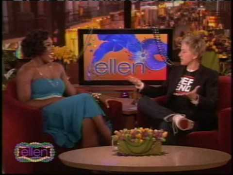 Serena Williams on Ellen