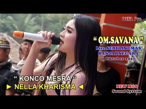 Konco Mesra - NELLA KHARISMA OM.SAVANA Live Serulingmas Banjarnegara