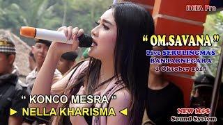 Konco Mesra Nella Kharisma Om Savana Live Serulingmas Banjarnegara