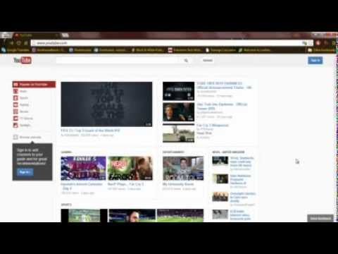 How to get the old Youtube layout back [Update 11/12/12]