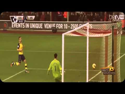 Обзор матча | Southampton vs Arsenal 2:0 All Goals & Highlights 2015