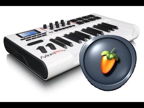 FL Studio: ¿Cómo configurar un piano/teclado o controlador MIDI?