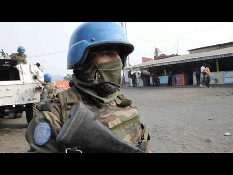UN fires on rebels to halt advance on Goma: UN