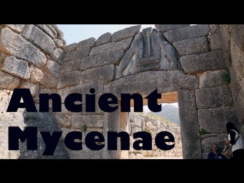 Ancient Mycenae - Peloponnese, Greece