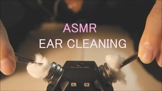 ASMR. 솜+핀셋귀청소 Ear Cleaning w/cotton&forceps for relaxation.(no talking)