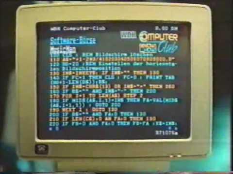 Werbung für Bildschirmtext