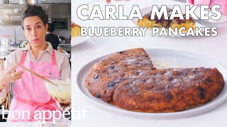 Carla Makes a Giant Blueberry Pancake | From the Test Kitchen | Bon Appétit