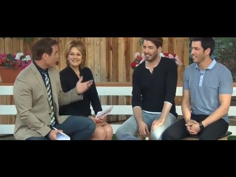 Drew and Jonathan Scott Appear On The Hallmark Channel Home and Family Show Part 1