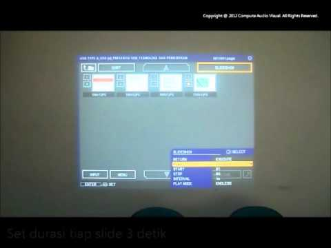 Hitachi Projector Indonesia PC-Less Presentation