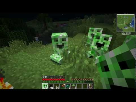 Minecraft com Mods - Baby Creepers e Larga isso Enderman!