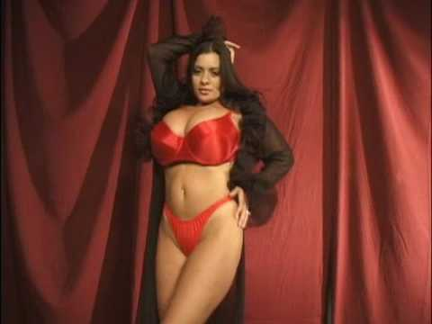Hot MILF Linsey Dawn McKenzie releases her hooters as she strips to stockings № 1453401  скачать