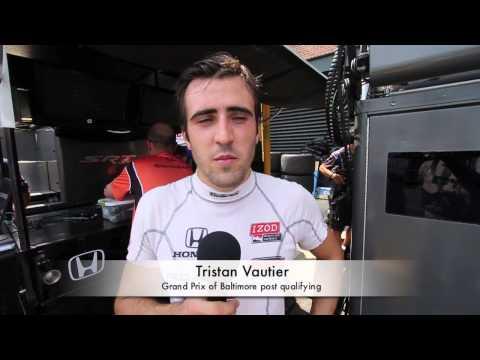 Tristan Vautier Baltimore post qualifying