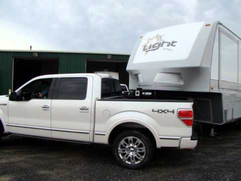 Check out the Open Range Light fifth wheel turning radius@Lerch RV, Milroy PA