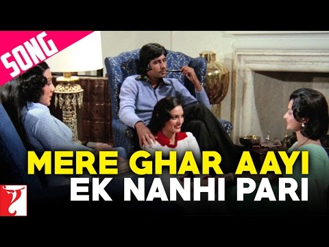 Mere Ghar Aayi Ek Nanhi Pari - Song - Kabhi Kabhie video