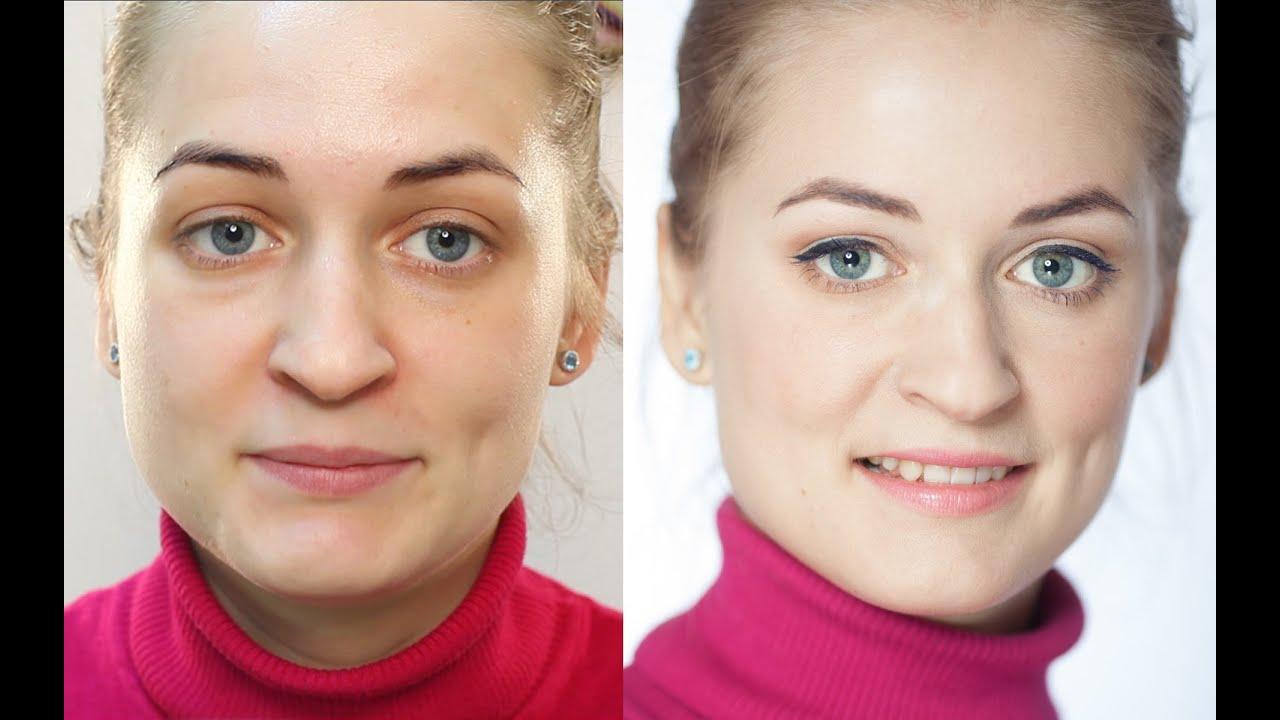 Урок макияжа повседневный